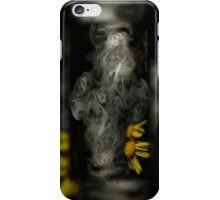 Optimisticly Dense Daisies © Vicki Ferrari Photography iPhone Case/Skin