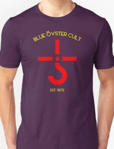 New BLUE OYSTER CULT Rock Band Legend Music Men's White T-Shirt2 T-Shirt