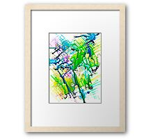 Climate Change series - Urban Flooding Framed Print