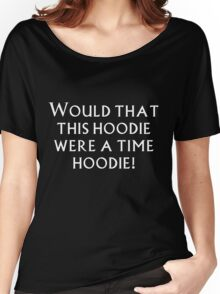 Time Hoodie! Women's Relaxed Fit T-Shirt