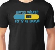 Guess What Its a Boy Unisex T-Shirt