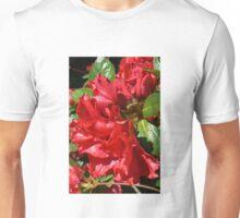Rich Red Azalea Unisex T-Shirt