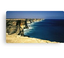 Cliffs of the Great Australian Bight Canvas Print