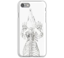 Echidna Skeleton iPhone Case/Skin
