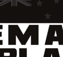REMAIN IN BLACK Sticker