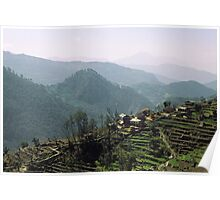 The Himalayan Foothills of Nepal Poster