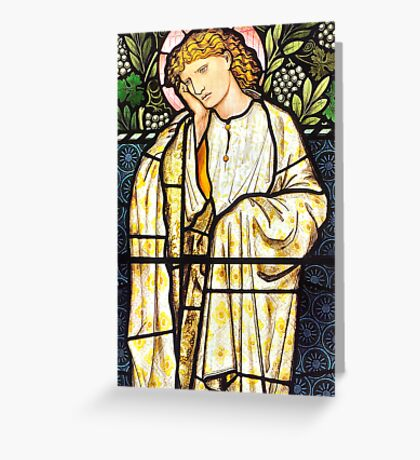 The East Window, Troutbeck Church - Greetings Card Greeting Card