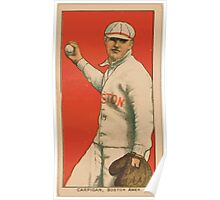 Benjamin K Edwards Collection Bill Carrigan Boston Red Sox baseball card portrait 001 Poster