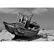 Shingle Sailor Photographic Print