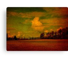 Clouds Over San Galgano-Tuscany Canvas Print