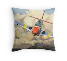 Imminent Attack Throw Pillow