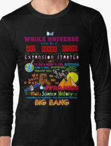 Big Bang Long Sleeve T-Shirt