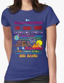Big Bang Womens Fitted T-Shirt