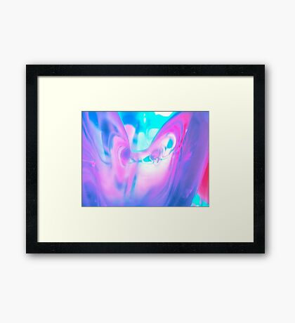 Intuitive Art  Framed Print