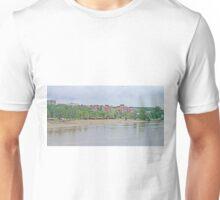 A Beach on the Danube Unisex T-Shirt