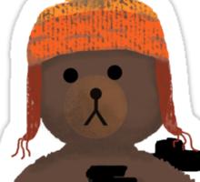 Cuddly Jayne - different font Sticker