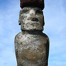 Easter Island iPhone Case by Jan Vinclair