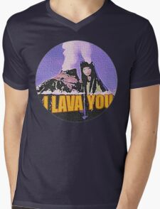 Lava Mens V-Neck T-Shirt