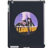 Lava iPad Case/Skin