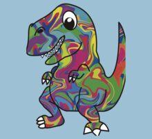 Colorful Dinosaur Kids Tee