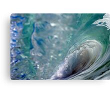 Aqua Tomb Canvas Print