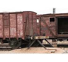 Antique liner-trains Photographic Print