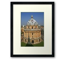 The Radcliffe Framed Print