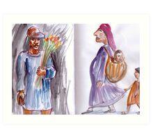 Mexican Sketchbook 2011 Art Print