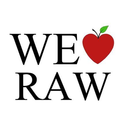 We Love Raw Sticker