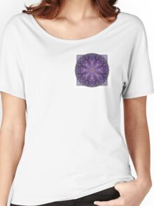 Crown Chakra Mandala 2d Women's Relaxed Fit T-Shirt