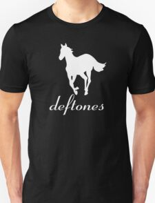 New DEFTONES White Pony Rock Band Logo Men's Black T-Shirt T-Shirt