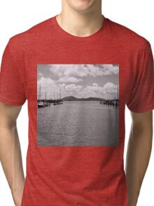 Tranquil river view Tri-blend T-Shirt