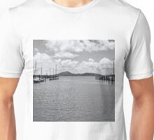 Tranquil river view Unisex T-Shirt