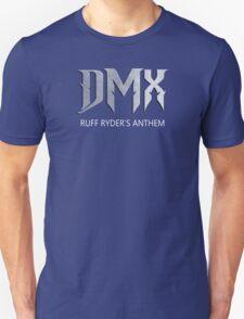 New DMX Ruff Ryders Anthem Rap Hip Hop Music Men's Black T-Shirt T-Shirt