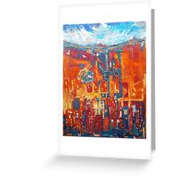 I Will Lift My Eyes Unto The Hills Greeting Card
