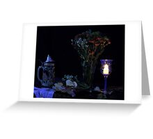 Stein Candle Apple Greeting Card