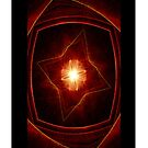 Crimson Inner Light Fractal (iPhone Case) by judygal