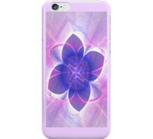 Purple Lotus Fractal (iPhone Case) iPhone Case/Skin