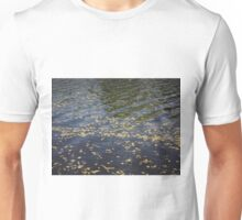 Spring river with catkins Unisex T-Shirt