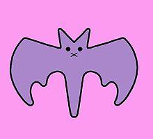 Pastel Goth Bat by Samantha Little