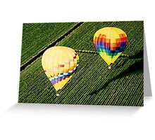 """Balloons Over Napa Valley"" Greeting Card"