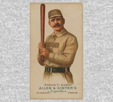 Benjamin K Edwards Collection Adrian C Anson Chicago White Stockings baseball card portrait One Piece - Long Sleeve