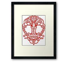 Yggdrasil - Yrminsul Framed Print