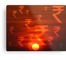 Rupees Dawn Metal Print