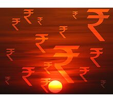 Rupees Dawn Photographic Print