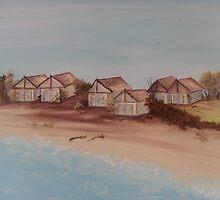 Beach Shacks by Tracy Smyth