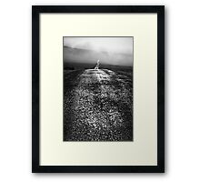 Shining Path - Nateby Common, Cumbria, UK Framed Print
