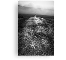 Shining Path - Nateby Common, Cumbria, UK Canvas Print