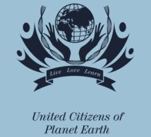 United Citizens of Planet Earth One Piece - Short Sleeve
