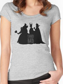Being Bad Women's Fitted Scoop T-Shirt